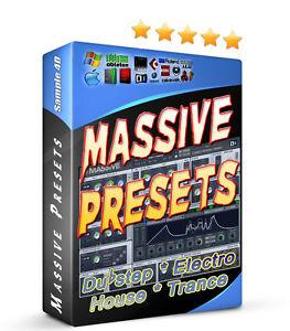 NI Massive GIANT Preset Banks (4300+ Sound Banks!) House Techno Dubstep Electro