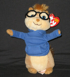 TY SIMON the CHIPMUNK BEANIE BABY - MINT with NEAR PERFECT TAG