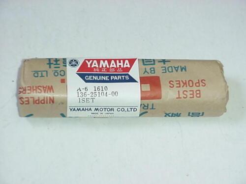 Yamaha YA6 Santa Barbara Front Spoke Set 136-25104-00