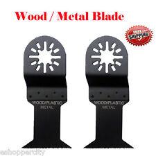 2 Soft Metal Wood Oscillating Multi Tool Saw For Blade Fein Bosch Dremel Ryobi