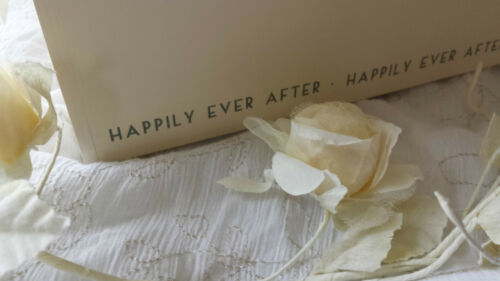 East of India Vintage Chic Wedding Wooden Memory Box Keepsake Gift Shabby Cream