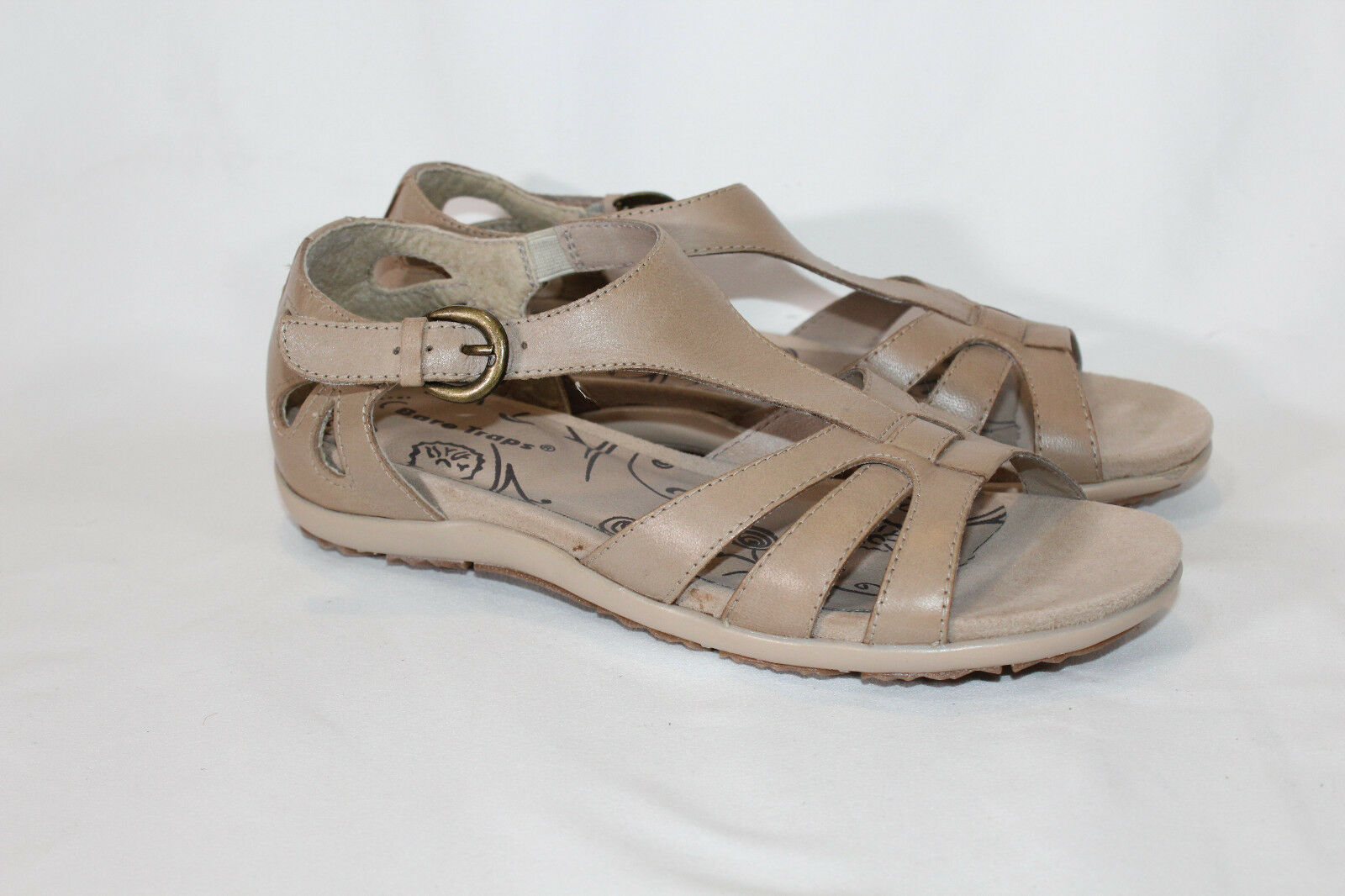 BareTraps Rosely Leather Multi T strap Sandals Cut Outs Rosely BareTraps PICK SIZE COLOR NEW d8c854