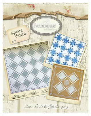PLANTING SEEDS ~ Acorn Quilt /& Gift Co. Quilt Pattern ~ FARMHOUSE COLLECTION
