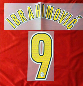 the best attitude febbc e1d51 Details about Ibrahimovic kit 9 x Orange Shirt Juventus F.C. NEW  Stilscreen- show original title