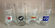 Set Of 4 X 1991 Rugby World Cup CONNOISSEUR VO BRANDY Glasses ( 6 Nations )