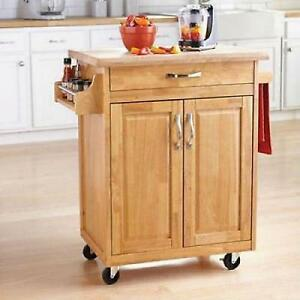 kitchen rolling cabinet kitchen island cart mobile portable rolling utility 2505