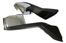 Volvo VNL Hood Mirror W/ Mounting Plates | Chrome | Pair (RH & LH) |