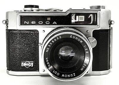 Neoca SV - Zunow 4.5cm f/2.8 lens