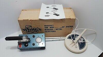 White's Coinmaster 2/DB Series 2 metal detector original ...