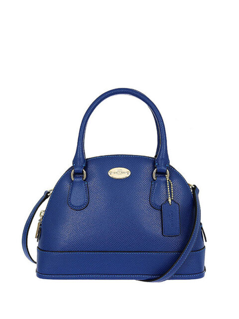 7961c23d56 Coach F34090 Mini Cora Domed Satchel in Crossgrain Leather for sale ...