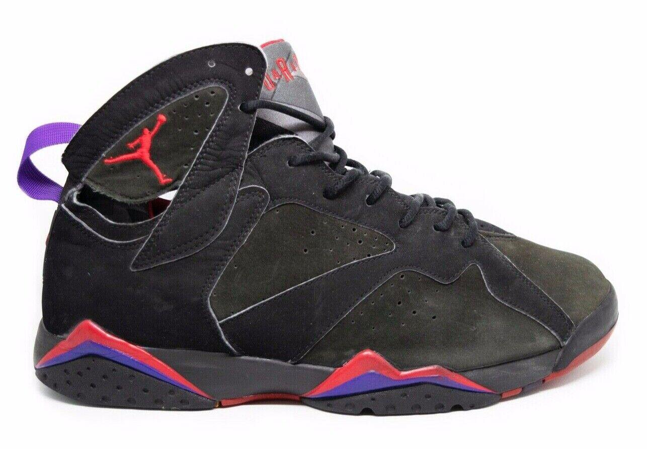 Vintage Jordan 7 VII Raptors Air (2002) 304775-006 Sin Caja