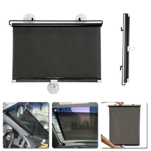 40x60CM Auto Retractable Side Window Car Sun shade Curtain Screen Roller Blind
