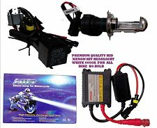 FULGENT HID XENON KIT HEADLIGHT WHITE 6000K FOR ALL BIKE H4 BULB .