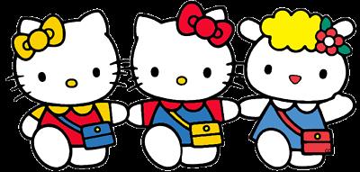 Papel fotográfico de Hello Kitty Pared Adhesivo de pared Calcomanías