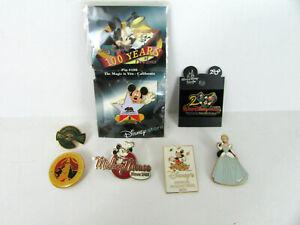 7-Disney-Pin-Lot-Disney-World-Disneyland-Tokyo-Holiday-Mickey-Mouse-Pirates