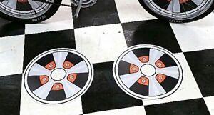 fUn-WhEeL-Bicycle-Mag-Wheel-Inserts-fit-Schwinn-Stingray-Banana-Seat-Muscle-Bike
