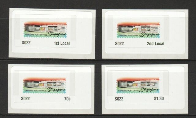 SINGAPORE 2017 GENERAL POST OFFICE GRAND OPENING COMMEMORATIVE POSTAGE LABEL 022