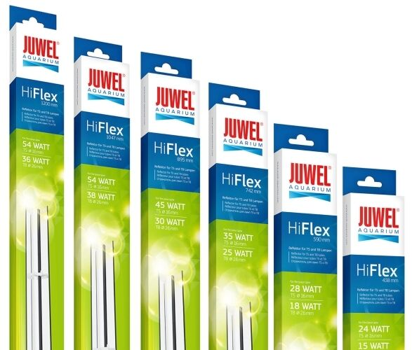 Juwel HiFlex Reflector Aquariums Fish Tank Hi Light Tube T5 T8 Clips Included