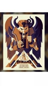 Details about Metallica London Exclusive 2019 Limited Edition VIP Tour  Poster Twickenham