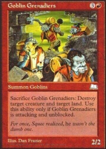 LP Weatherlight mtg 4x x4 4 Goblin Grenadiers