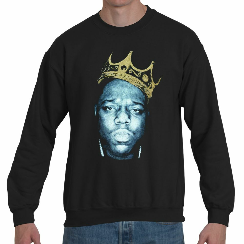 Notorious BIG Biggie Smalls King Crown of New York NY Sweater Or Hoodie