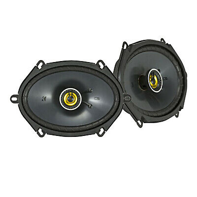 4-Ohm 160x200mm Coaxial Speakers Kicker 46CSC684 Two Pairs of CS-Series CSC68 6x8-Inch 2 Pairs