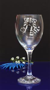Personnalisé BAGPUSS gravé verre vin votre NAE anniversaire//X-MAS 362