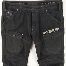 Mens G-Star STORM 5620 LOOSE POST EMBRO Combat Style Blue Jeans W36 L30