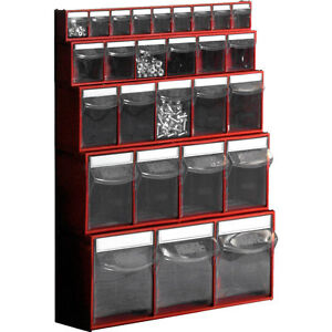 tilt bins tilting box workshop van storage tiltbox plastic small parts bin ebay. Black Bedroom Furniture Sets. Home Design Ideas