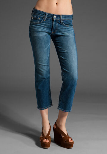AG ADRIANO goldSCHMIED PIPER  CROPPED JEAN 14 YEARS SZ 26 NWT