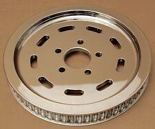 Harley original Belt pulley slotted Sprocket evo Sportster 61t fxr Dyna cromo