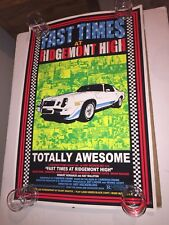 Fast Times at Ridgemont High Movie Poster 8x10 11x17 16x20 22x28 24x36 27x40