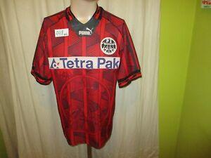 Eintracht-frankfurt-original-Puma-hogar-camiseta-1995-96-034-Tetra-Pak-034-talla-S-M