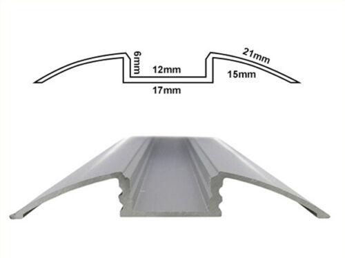 Profilo Canalina Barra Alluminio Led Da Pavimento Per Strip Bobina Led Fino a 12