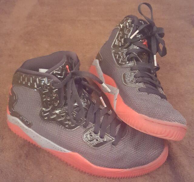 2015 Nike Air Jordan Spike Lee Forty PE SZ 8 Black Fire Red Retro 807541 002 EUC