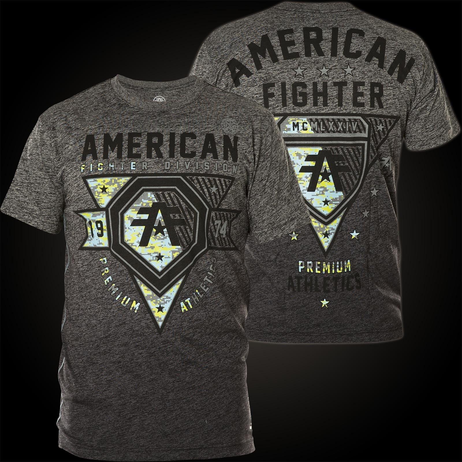 AMERICAN FIGHTER Affliction T-Shirt Wingate Grau T-Shirts