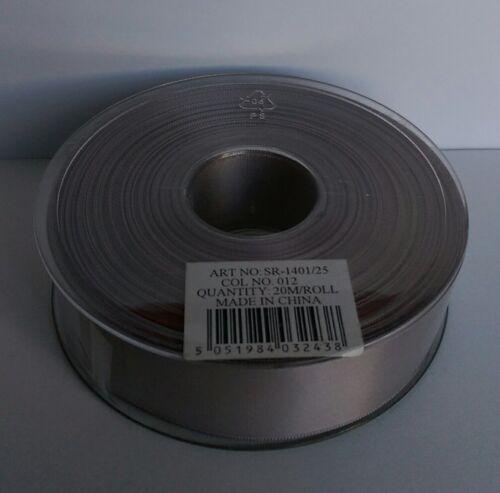 SR various sizes and colours SUPER RIBBON - Premium Double Faced Satin Ribbon