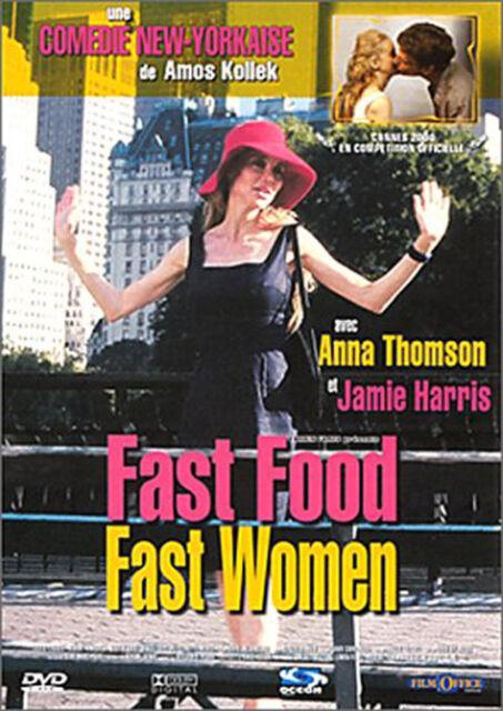 FAST FOOD FAST WOMEN - BON ETAT DVD REGION/ZONE 2 VIEWED ONCE