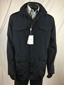 NWT-Armani-Collezioni-Water-Resistant-4-Pocket-Field-Jacket-034-Caban-034-54-44-895