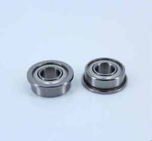 MF148ZZ 8x14x4mm Miniature Metal Bearing Flanged Ball Bearing 10 PCS