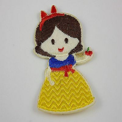 1pcs Embroidered Cloth Iron On Patch Sew Motif Applique the cartoon R7