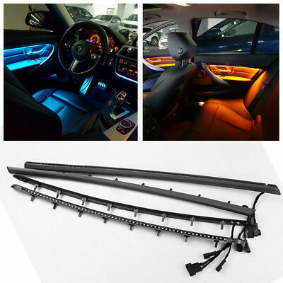 2 Colors LED Ambient Light Interior Panel Door Atmosphere Lamp For BMW F30//F31