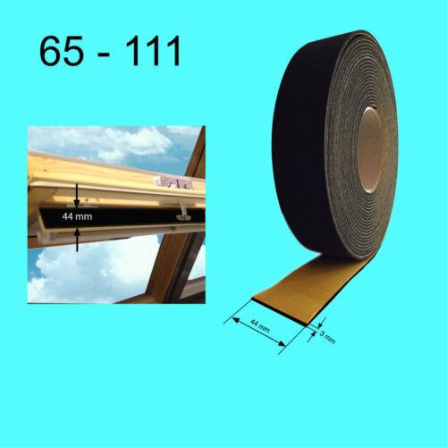 Holz u.PVC ab 1 m TOP Dichtung für VELUX geeignet Dachfenster Lüftungsklappe