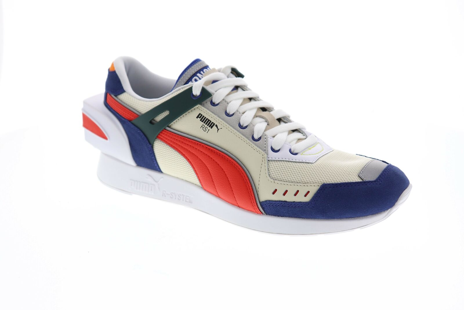 new product adac7 ac7b9 Puma Rs-1 Ader Error 36953701 Mens Beige Tan Blue Casual Low Top Sneakers  Shoes