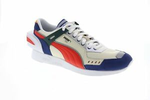 Puma-RS-1-Ader-Error-36953701-Mens-Beige-Tan-Blue-Casual-Low-Top-Sneakers-Shoes