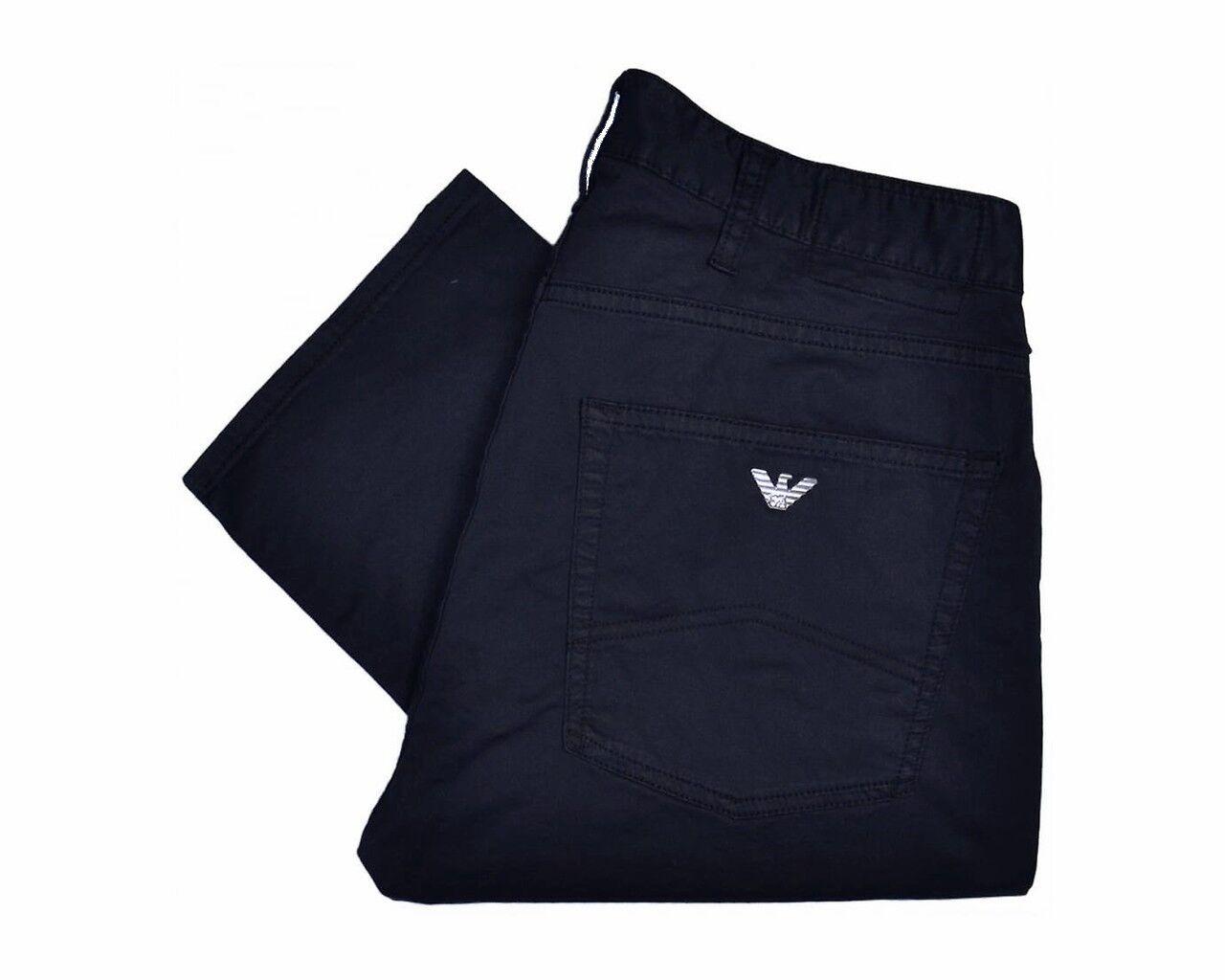 Armani Jeans 3Y6J45 6NEDZ Slim Fit J45 Mens Jeans Dark bluee