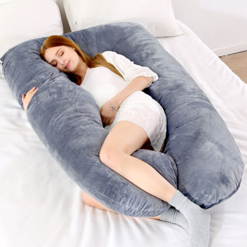 U Shaped Maternity Pregnancy Pillow Nursing Feeding Boyfriend Body Pillows GN