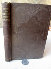 LEAVES From MARGARET SMITH'S JOURNAL,1849,John Greenleaf Whittier,1st Ed