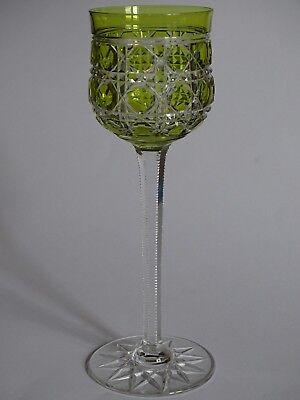1 Ancien Verre A Vin Du Rhin Roemer Cristal Baccarat Modele Pontarlier