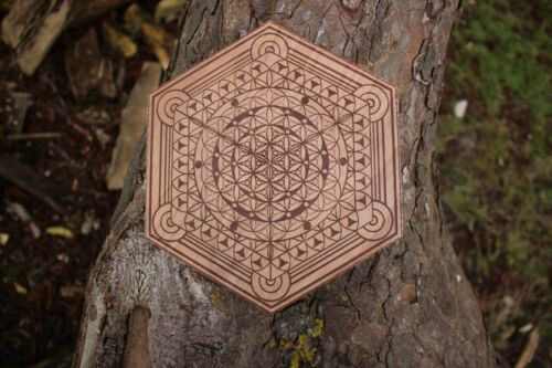 Crystal Grid Flower of life Sacred Geometry Conscious Particle